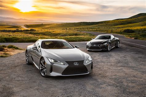 2018 Lexus Lc 500 And Lc 500h First Test  Motor Trend Canada
