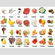 Spanish Food Vocabulary Of Different Kinds There Is Also A Printable For Fruit Las Frutas Y