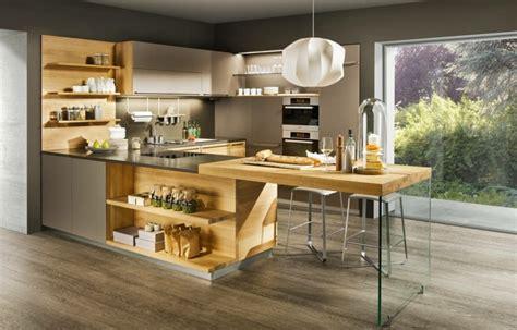 plan de cuisine bois pourquoi choisir une cuisine avec plan de travail bois