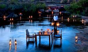 10 most romantic tables for two around the world for Nice places to go for honeymoon