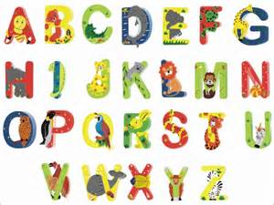 Alphabet Letters with Animals