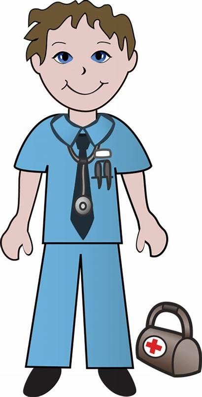 Doctor Clipart Clip Nurse Transparent Doctors Patient