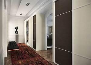 porte de placard hall entree With amazing idee deco entree maison 3 placard pour une entree