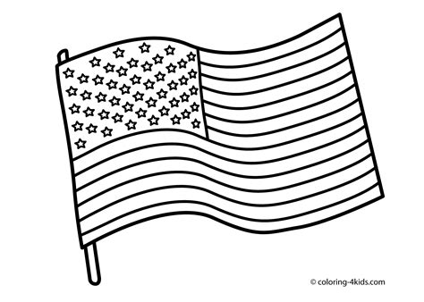 thofjuly    july coloring pages usa