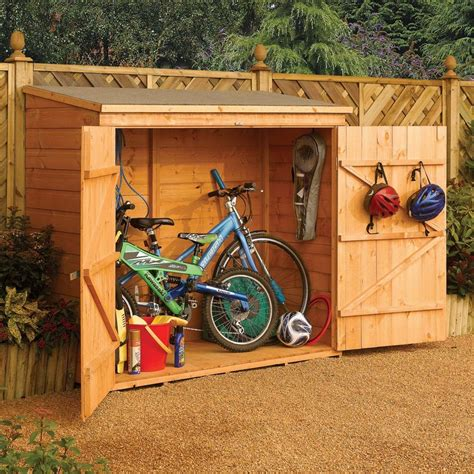 tifany blog    build  wooden bike shed