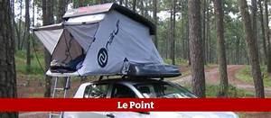 Tente De Toit Voiture : l 39 objet du jour une tente pour dormir sur le toit de la voiture le point ~ Medecine-chirurgie-esthetiques.com Avis de Voitures