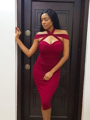 Cuisine Iké œ Chika Ike Is All Shades Of Lovely In This Dress