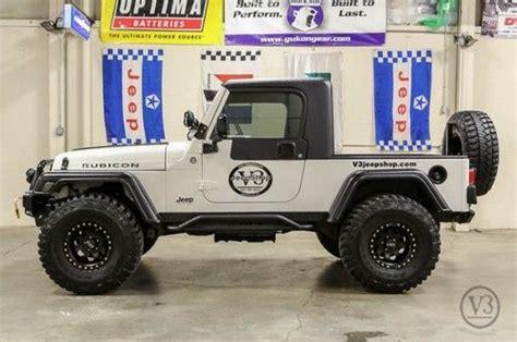 sell   jeep wrangler unlimited rubicon sport  truck conversion  louisville