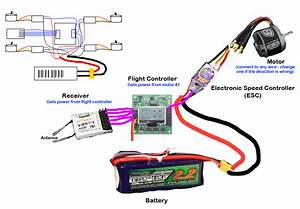 Wiring Diagram Quadcopter