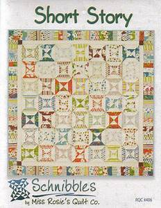 short story a schnibbles charm pack quilt pattern by With story quilt template