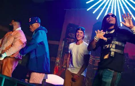 dj khaled reunites chance  rapper justin bieber