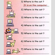 Prepositions Of Place Exercises With Pictures  Articles  Detailenglish  Classroom Ideas