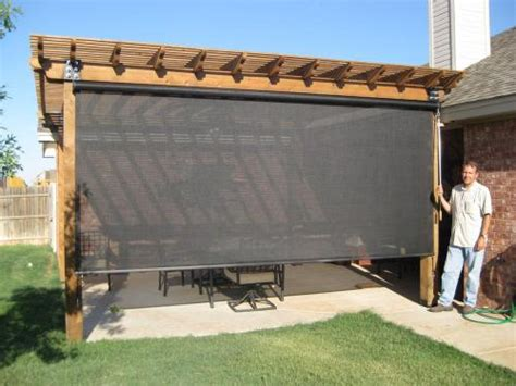 Outdoor Shades For Patio patio shades roller shades and much more call beat the