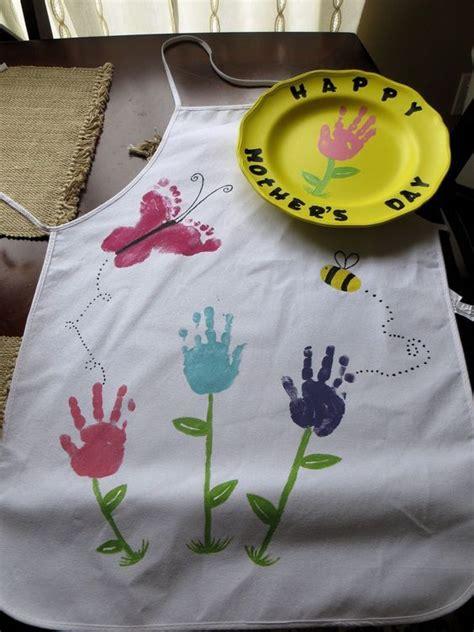 hand  footprint art ideas mothers day crafts