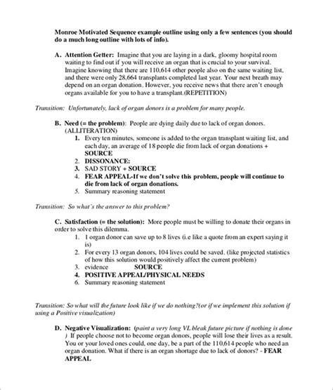 persuasive speech template persuasive speech outline template 9 free sle exle format free premium
