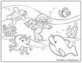 Coloring Preschool Popular sketch template
