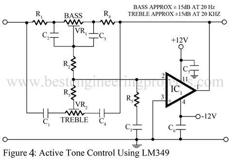 Tone Control Circuit Active Passive Best