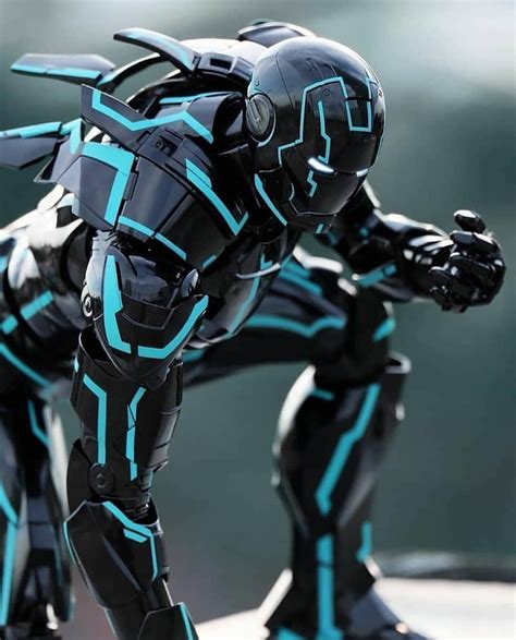 Tron Inspired Ironman toy from Hot Toys!