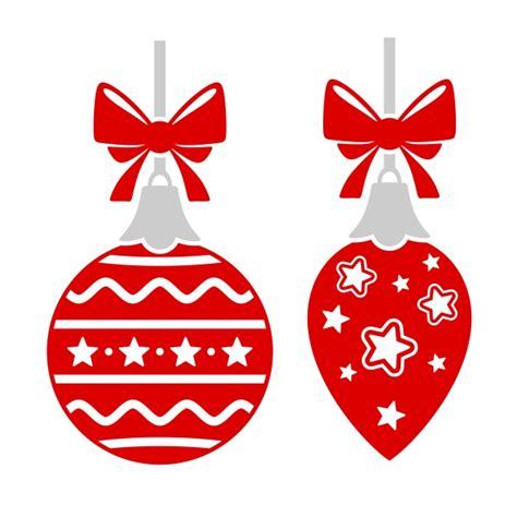 merry christmas ornament cuttable design