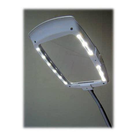 Lighted Page Magnifier L by Enfren Ef 200 Led Magnifier Desk L Magnifying Light Ebay