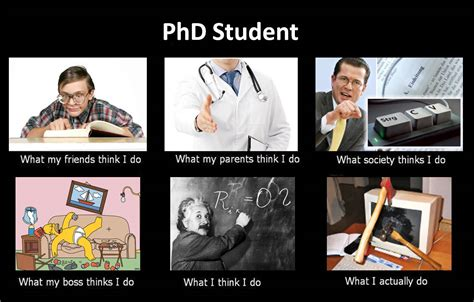 Phd Meme - image 252824 what people think i do what i really