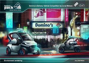 Domino's picks winning Ultimate Delivery Vehicle design