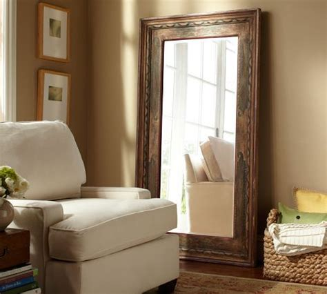 Pottery Barn Floor L Assembly by Large Floor Mirror Pottery Barn Furniture And Home