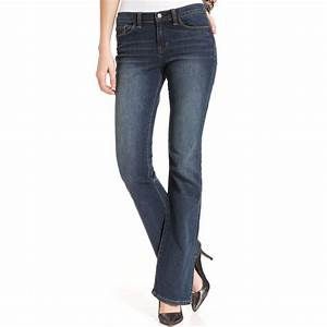 Lyst - Calvin Klein Jeans Bootcut Leg Jeans in Blue