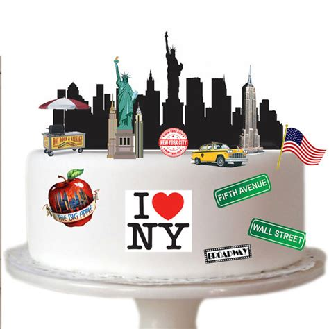 Stand Up Nyc by Stand Up New York City Scene Made From Fully Edible Premium