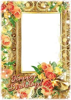 Loonapix Cornici 40 Happy Birthday Frames Loonapix