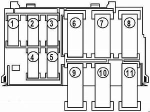 2008 Mazda 6 Fuse Box Diagram