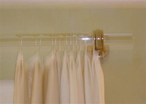 cheap transparent pmma acrylic curtain rods 3mm 600mm
