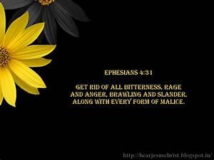Bible Quotes Ephesians 4 31 QuotesGram