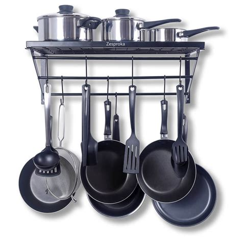 Kitchen Wall Rack Pots Pans by The Best Storage Solution For Cookware Food Processr