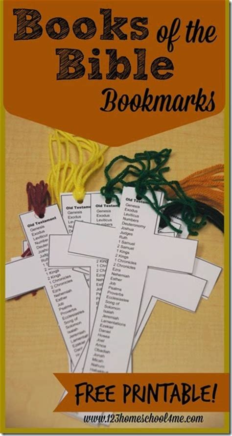 printable books   bible bookmarks