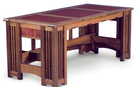 prairie style desk finewoodworking