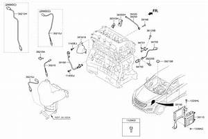 2015 Hyundai Santa Fe Engine Diagram : 39210 2g850 genuine hyundai sensor assembly oxygen rear ~ A.2002-acura-tl-radio.info Haus und Dekorationen
