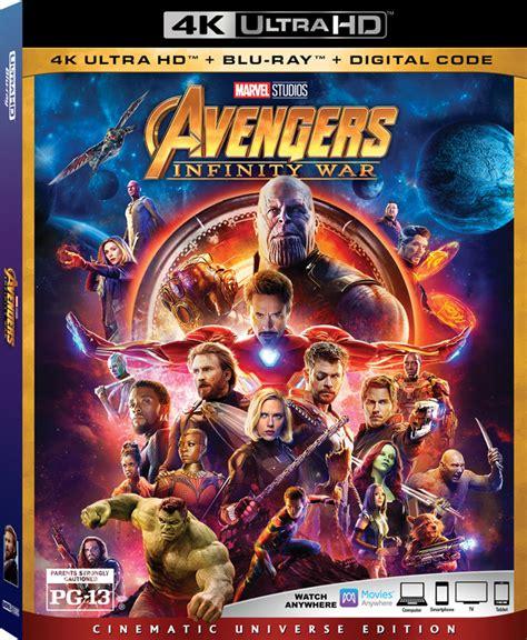 avengers infinity war   blu ray release date