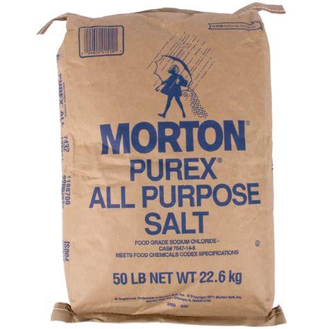 Morton 50 lb. Bulk Non Iodized Table Salt
