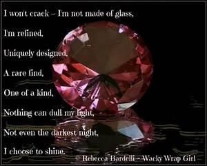 #Shine bright l... J Diamond Quotes