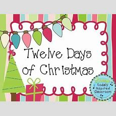 Twelve Days Of Christmas A Song To Practice Half Note And A Matching Game