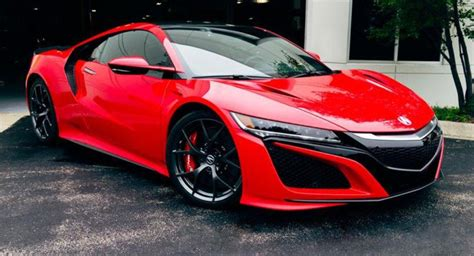 acura nsx pricing and launch details revealed