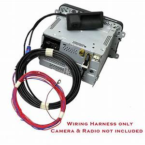 Oem Wiring Harness For Rgb Rear View Camera Fit Rcd510  No