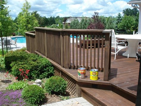 28 best backyard fence ideas deck with decor tips