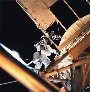 Owen Garriott Performs a Spacewalk During Skylab 3 | NASA