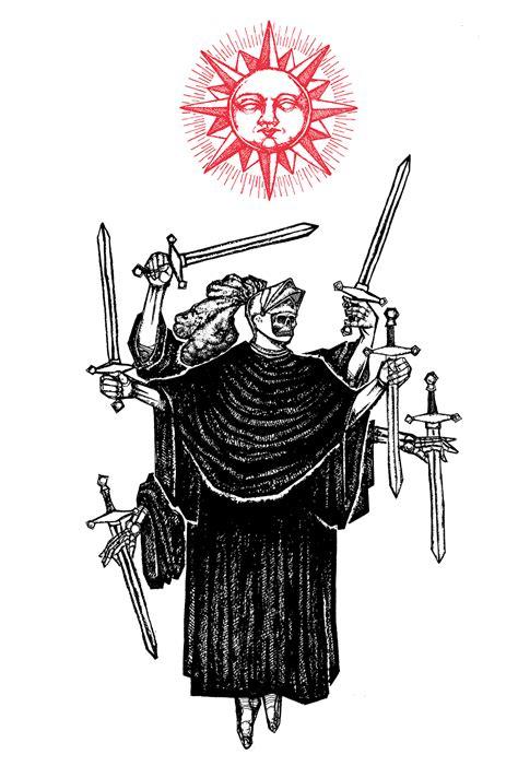 swords  watercolor print micah ulrich