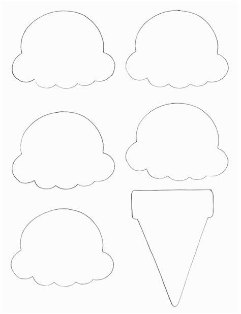 paper ice cream cone project     paper model