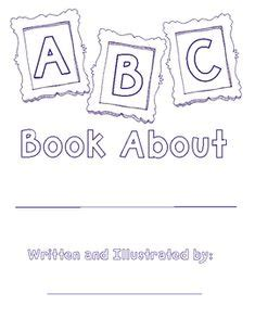 printable abc book covers abc coloring pages