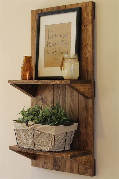 rustic wall shelf vertical rustic wooden shelf rustic shelf rustic furniture