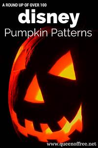 Disney Pumpkin Carving Patterns - Queen of Free